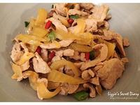 家常料理-酸菜炒肉絲
