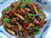 lanni  豆乾小魚