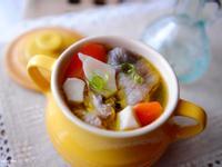 杏鮑菇燉雞湯