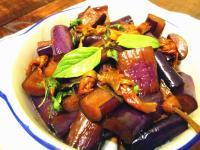 下飯菜-醬爆茄香金針花「炒茄子不變黑」