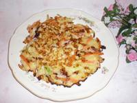 山藥海鮮煎餅