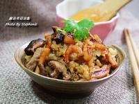 麻油香菇油飯