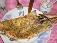 義式香烤鱸魚