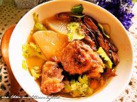 金針排骨酥湯「臺東農產好料理」