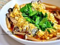 鹹蛋菇菇蒸魚