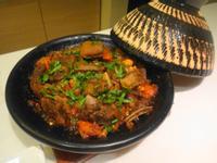 摩洛哥風味燉羊肉佐北非小米沙拉