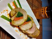 薑黃雞腿捲「臺東農產好料理」