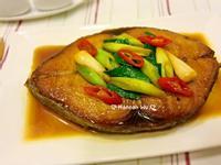 蒜苗燒吐魠魚