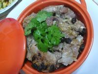 lanni  蒸醬油麴豆鼓地瓜排骨