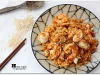 泰式風味意式口感之咖喱海鮮炒飯