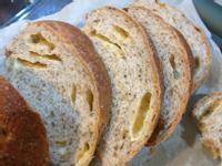 小橘子的香草義大利湯種麵包