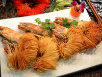 香脆黃金麵線蝦