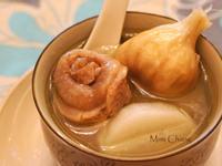 Mimi♥山藥大蒜雞湯