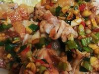 蔥辣香煎雞腿肉