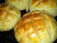 湯種奶酥菠蘿麵包