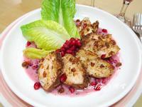 香料雞肉片佐紅石榴優格醬