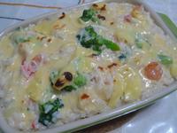 lanni  焗烤海鮮燉飯