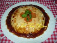 (素)紅麴蒸蛋豆腐