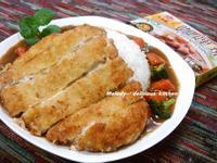 藍帶豬排咖哩飯