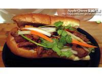 自己做越南三明治(豬肉口味)~Pork Vietnamese Sandwich!