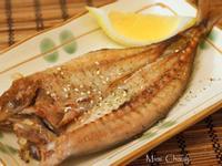 Mimi♥香煎竹莢魚一夜干