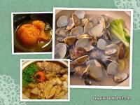 ♥ 蛤蜊海陸涮涮鍋 ♥  +超級簡易火鍋湯底