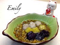 花花造型的QQ芋圓和地瓜圓