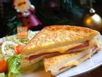 Mimi♥起司火腿法式三明治