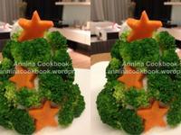 超簡單!馬鈴薯耶誕樹