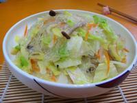 冬粉炒高麗菜