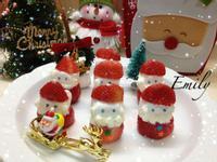 聖誕老公公集合準備送禮物囉!
