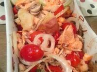 迷迭香烤鮭魚排