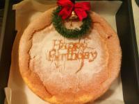 【聖誕戚風蛋糕】