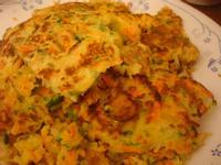 紅蘿蔔小黃瓜煎餅