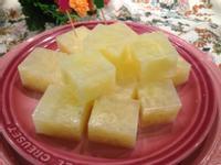 蛋花洋菜凍