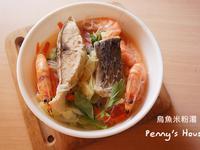 烏魚鮮蝦米粉湯