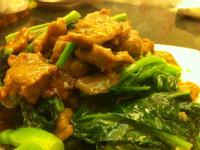 芥藍牛肉-穀盛壽喜燒