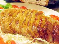 醋燒蜂蜜豬肉排