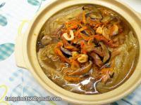 香菇魷魚滷白菜  (EZ砂鍋菜9)