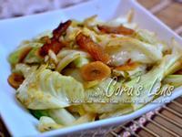 醬鳳梨炒高麗菜