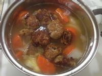 紅白蘿蔔肉丸湯