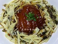 素年菜-筍干封肉