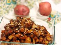 簡單美味小菜 - 韓式馬鈴薯 Korean potato 감자 조림, GamJa JoRim