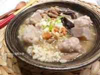 櫻花蝦芋頭鹹粥
