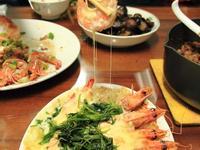 焗烤起司白蝦