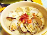 超簡單免油炒-蛤蜊巧達濃湯