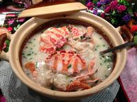 海鮮蟹砂鍋粥