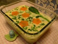 鱈魚蔬菜蒸蛋【樂扣樂扣】