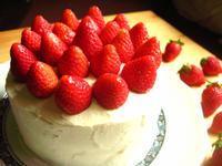 單純的美味~草莓鮮奶油蛋糕