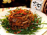 辣味酸筍魚肚絲[淬釀年菜料理]